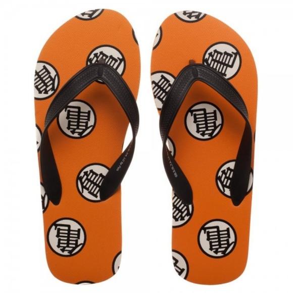 Medium Dragon Ball Z Flip Flops Shoes